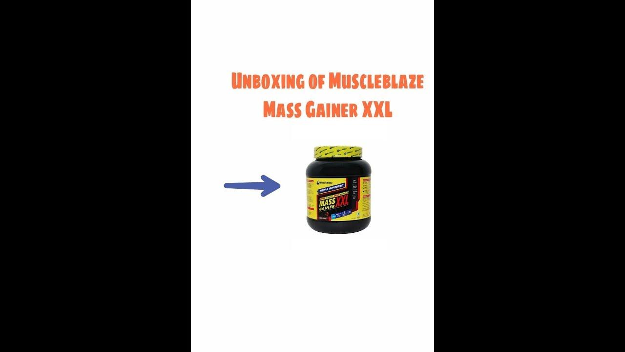 Muscleblaze mass gainer xxl unboxing youtube muscleblaze mass gainer xxl unboxing malvernweather Choice Image