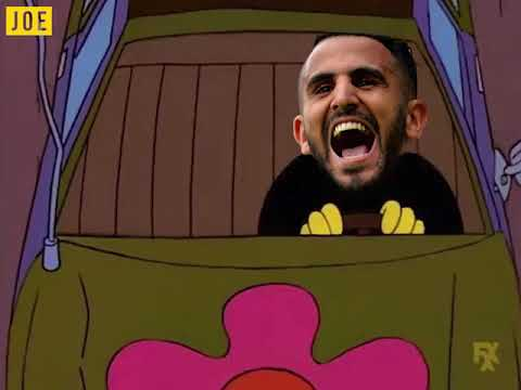 Riyad Mahrez trying to leave Leicester City like