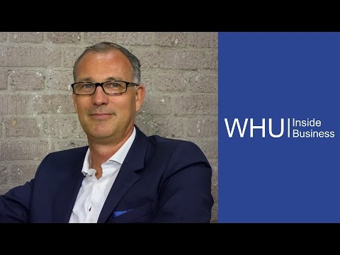 Dr. Bernd Schmaul on the future of urban mobility | WHU Inside Business