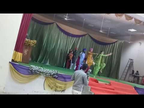 Bhangra in farewell 2017