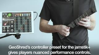 Check out GeoShred, the app takes the jamstik+ to a whole new level | jamstik+ The SmartGuitar