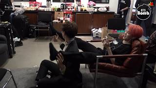 [BANGTAN BOMB] j-hope & Jimin Let's exercise - BTS (방탄소년단)