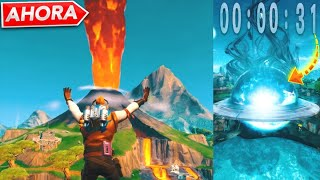 *NEW* FINAL EVENT OF BALSA BOTIN NOW ACCOUNT ATRAS, VOLCAN EXPLOTATION LIVE FROM FORTNITE!!