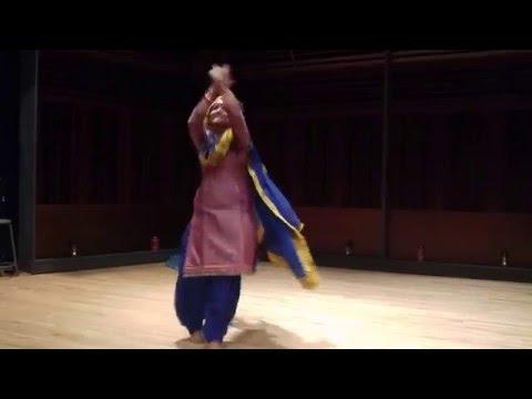 Punjabi Free Style Dance (Sukhdeep Kaur)