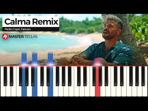 💎 Calma Remix – Pedro Capó, Farruko | Piano Tutorial 💎