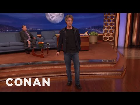 David Bowie Taught Dana Carvey A Dance Move  - CONAN on TBS