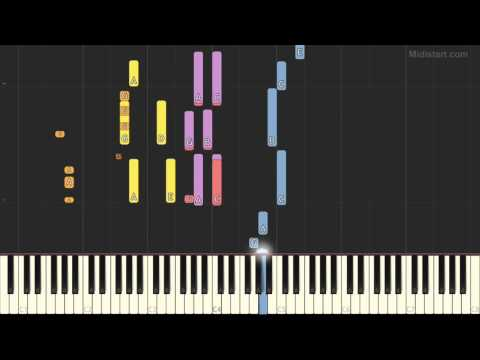 George Harrison - Got My Mind Set on You (Piano Tutorial) [Synthesia Cover]