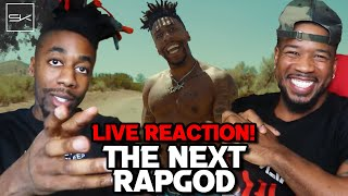 Download THE NEXT RAP GOD  [LIVE REACTION WITH DAX]