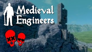 Beautiful, Beautiful Destruction | Medieval Engineers Gameplay Part 1
