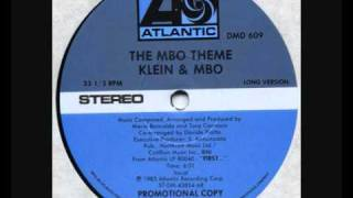 The MBO Theme   Klein & MBO ( Long version )