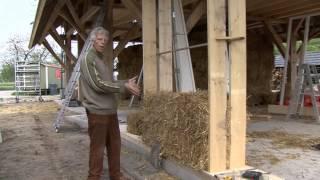 Hoe bouw je een gebouw van stobalen?