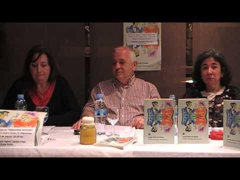 Presentación debate novela Villaviciosa Hermosa de Carlos Ortiz de Zárate VIDEO 1