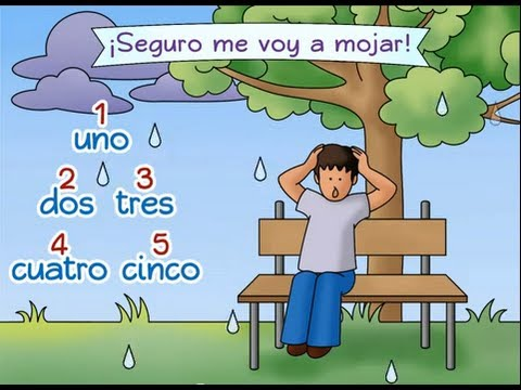 Counting to Five in Spanish: Lluvia - Calico Spanish Songs for Kids