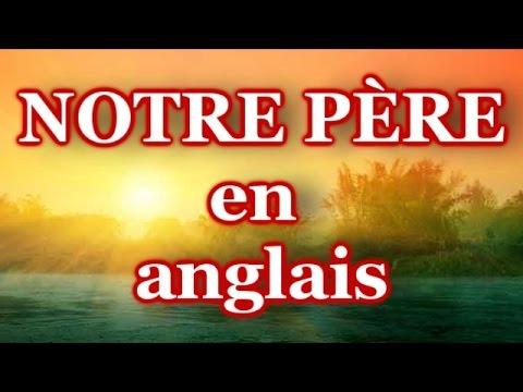 Turbo NOTRE PÈRE en anglais (lent à rapide) / French - YouTube IS03