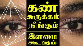 Eye Beauty Tips in Tamil for Wrinkles on Face & Dark Circles