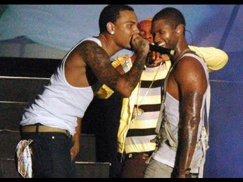 Chris Brown vs Usher {Dance Battle}