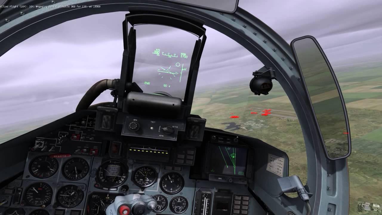 Digital Combat Simulator Su-27 Air-to-Air Combat