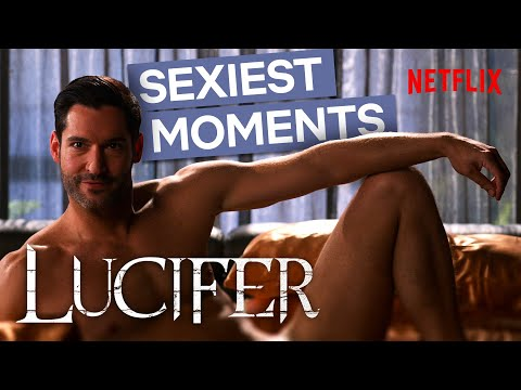 Lucifer's Sexiest Moments | Netflix