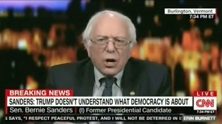 "Bernie Sanders Calls CNN ""Fake News"" - And His Feed Is Cut Off"