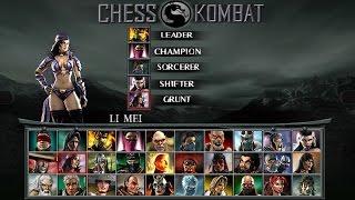 Mortal Kombat Unchained HD PPSSPPv1.3 Chess Kombat 26\11\16