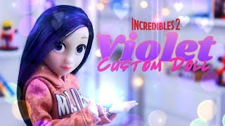 DIY - How to Make: Incredibles 2 Violet CUSTOM DOLL | Alter Ego Violet