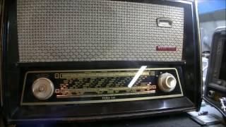 Vega C64 Radyo ile 9700 KHz Turkiyenin Sesi Radyosu Voice of Turkey NA5B TA5B Mehmet Ozcan