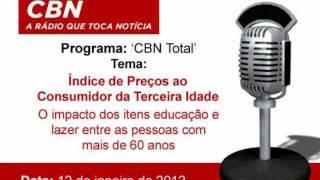 Baixar Rádio CBN entrevista o Portal Terceira Idade sobre o IPC-3i