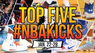 Top 5 Sneakers Worn in the NBA (Jan. 22 - 28)