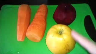 Целебный ЧУДО НАПИТОК из свеклы, яблока и моркови