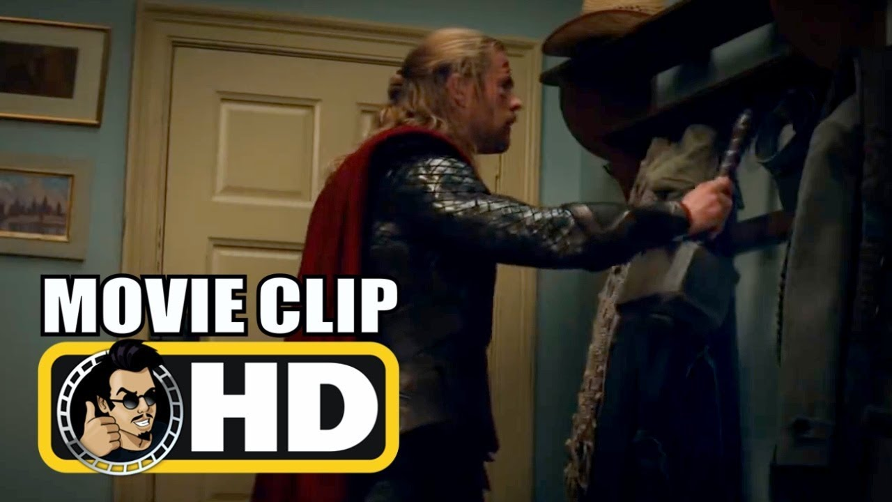 thor the dark world 2013 movie clip thor hangs his hammer on