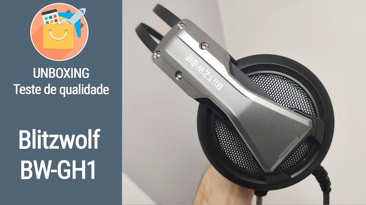 BW-GH1: o novo headset gamer da Blitzwolf de R$ 130! Vem conhecer!