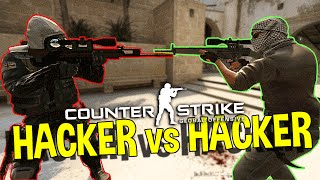 CS:GO - HACKER VS HACKER (OVERWATCH FUNNY MOMENTS)