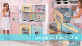 Children's Deluxe Culinary Play Kitchen - Toy Review