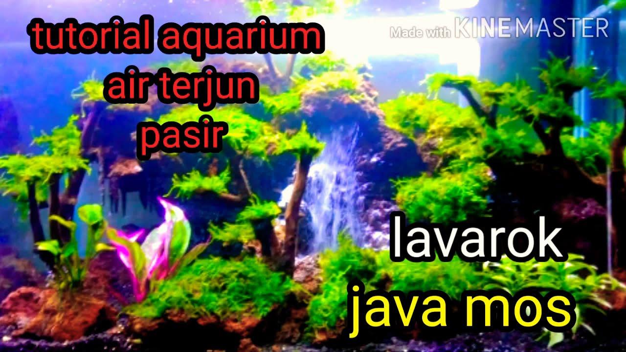 #tutorial cara bikin aquarium air terjun pasir#aquascape# ...