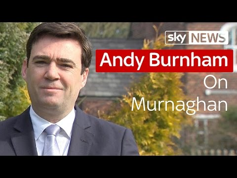 "Andy Burnham MP: George Osborne Is ""Real Villain"""