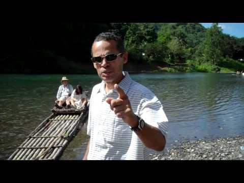 Jamaica tour guide visits Rio Grande in Portland, Jamaica
