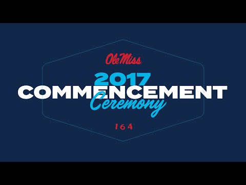 Livestream for Commencement 2017