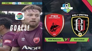 Download Video Gol Marc Klok - PSM 2 -  0 BALI UTD | Go-Jek Liga 1 bersama Bukalapak MP3 3GP MP4