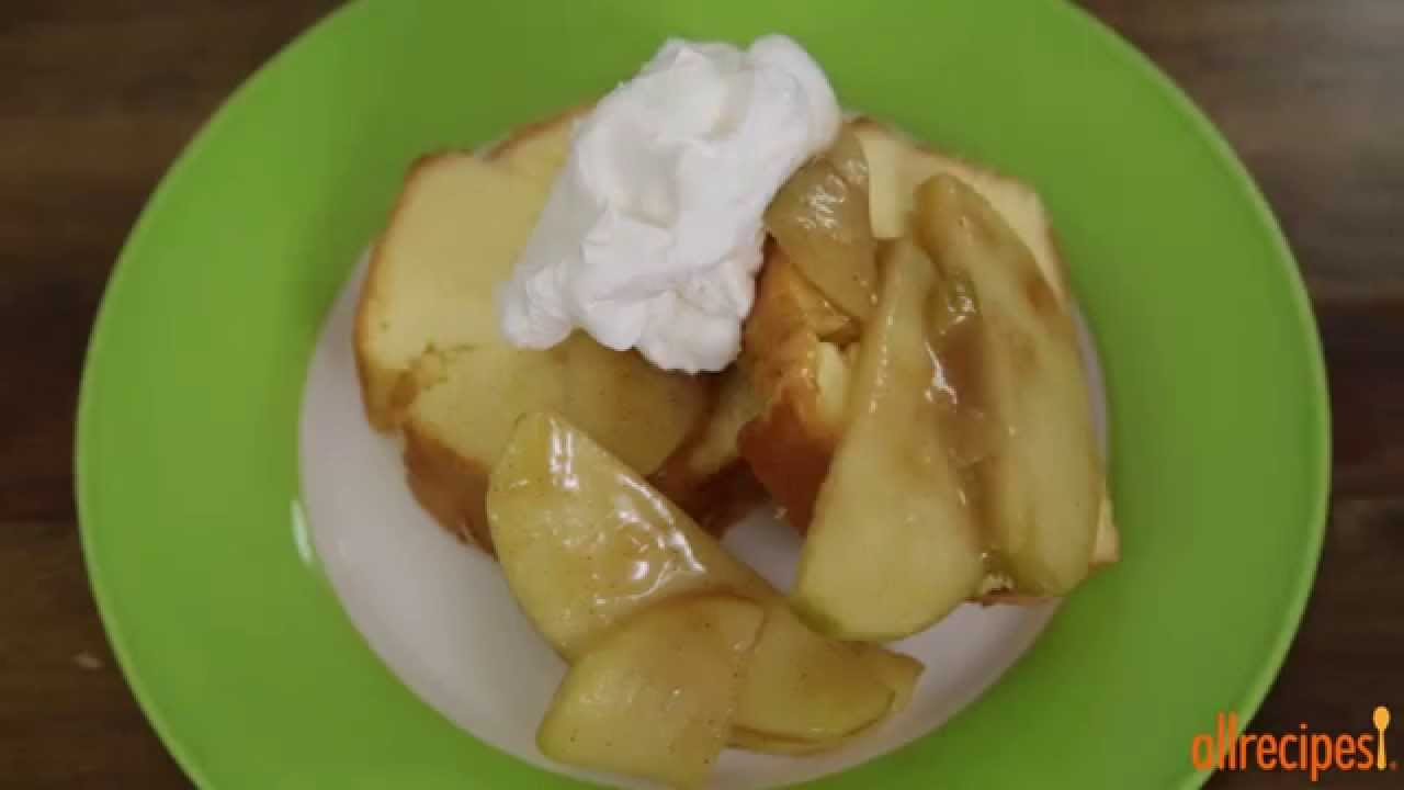 How to make sauteed apples apple recipes allrecipes youtube how to make sauteed apples apple recipes allrecipes forumfinder Choice Image