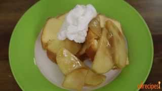 Apple Recipes - How To Make Sauteed Apples