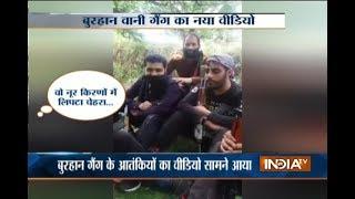 Kashmir: Militants caught singing song on camera for Burhan Wani
