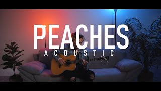 Peaches (Acoustic) - Justin Bieber (Cover by Adam Christopher)