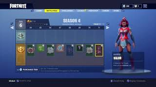 *FREE* NEW SEASON 4 BATTLEPASS FORTNITE CARBIDE/BATTLEHAWK/TEKNIQUE/VALOR/SQUADLEADER/OMEGA SKINS
