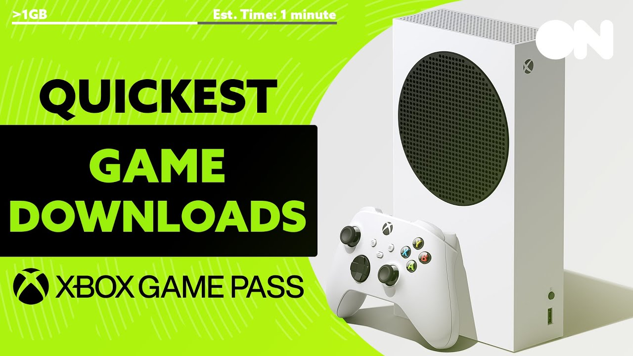 10 SUPER QUICK To Download Games For Xbox Series S