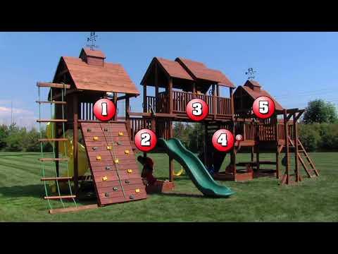 Adventure Mountain - A Big Backyard Play Set