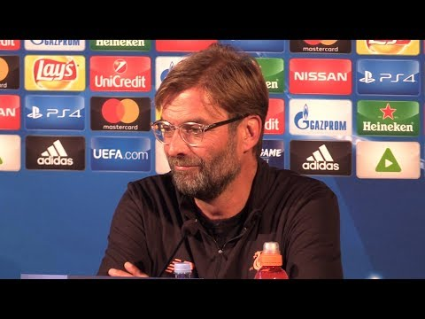 Jurgen Klopp Full Pre-Match Press Conference - NK Maribor v Liverpool - Champions League