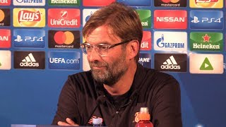 Jurgen Klopp Full Pre-Match Press Conference - Maribor v Liverpool - Champions League