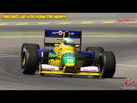 Assetto Corsa - Benetton B191 Onboard Lap At Spa-Francorchamps