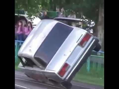 Ушол на двух колесах на ваз 2107 Чечня