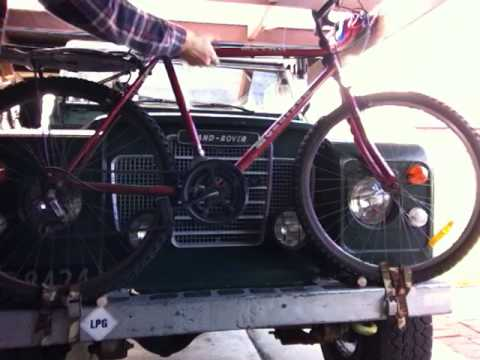 landrover rover land discovery aka rack an watch on nv kuat youtube bike